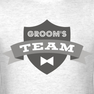 Banner Groom's Team T-Shirts - Men's T-Shirt