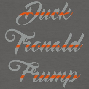 Duck Tronald Frump womens charcoal tee - Women's T-Shirt