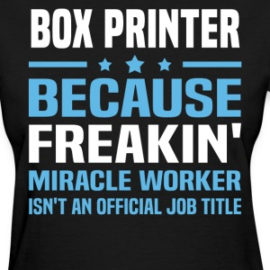 Box Printer - Women's T-Shirt