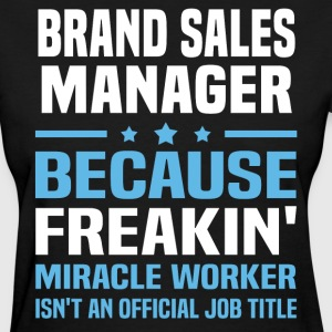 Brand Sales Manager - Women's T-Shirt