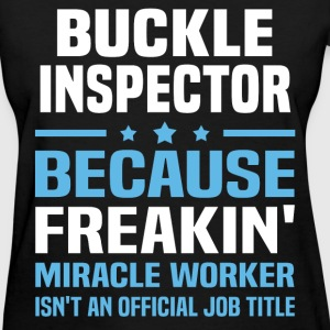 Buckle Inspector - Women's T-Shirt