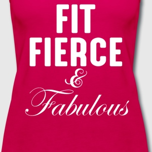 Fit Fierce And Fabulous Tanks - Women's Premium Tank Top
