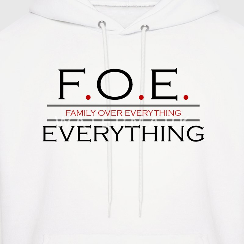 Family Over Everything Hoodie - Men's Hoodie