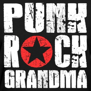 Punk Rock Grandma T-Shirts - Women's T-Shirt