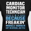 Cardiac Monitor Technician - Women's T-Shirt