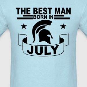 the_best_man_born_in_july_ - Men's T-Shirt