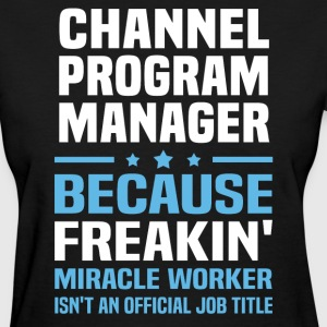 Channel Program Manager - Women's T-Shirt