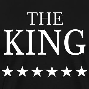The KING T-Shirts - Men's Premium T-Shirt