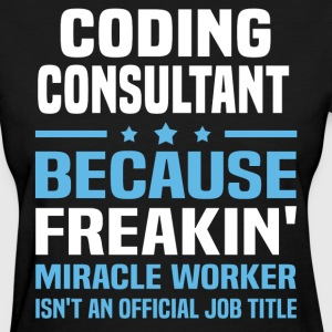 Coding Consultant - Women's T-Shirt