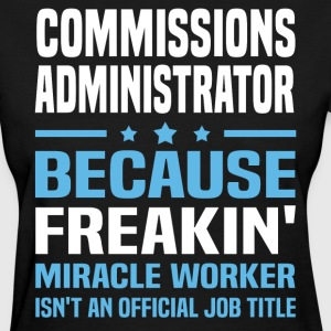 Commissions Administrator - Women's T-Shirt