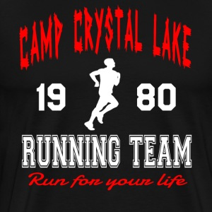 Camp Crystal Lake Running Team T-Shirts - Men's Premium T-Shirt