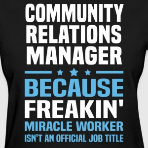 Community Relations Manager - Women's T-Shirt