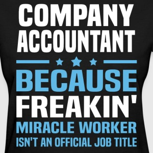 Company Accountant - Women's T-Shirt