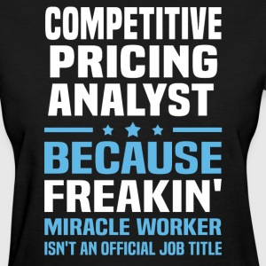 Competitive Pricing Analyst - Women's T-Shirt