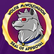 Design ~ Wolfie McWolfington Seal of Approval Women's