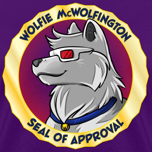 Wolfie McWolfington Seal of Approval Women's
