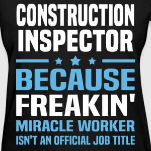 Construction Inspector - Women's T-Shirt