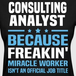 Consulting Analyst - Women's T-Shirt