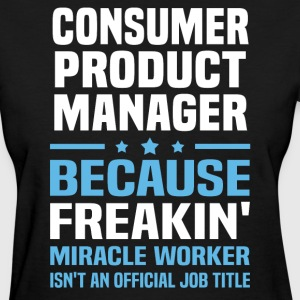 Consumer Product Manager - Women's T-Shirt