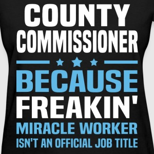 County Commissioner - Women's T-Shirt