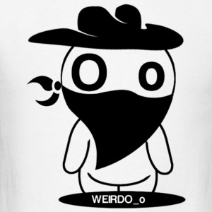 Weird Cowboy T-Shirts - Men's T-Shirt