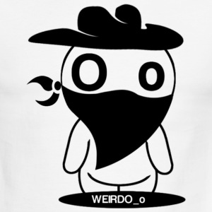 Weird Cowboy T-Shirts - Men's Ringer T-Shirt
