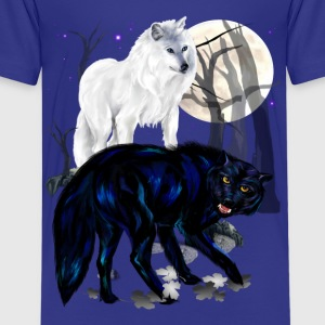 Two Wolves - Kids' Premium T-Shirt