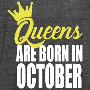 queens are born in october Tanks - Women's Flowy Tank Top by Bella