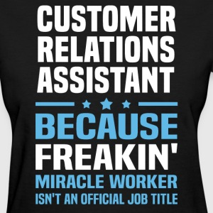 Customer Relations Assistant - Women's T-Shirt