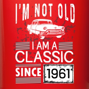I'm not old I'm a classic since 1961 Mugs & Drinkware - Full Color Mug