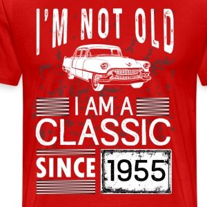 I'm not old I'm a classic since 1955 T-Shirts - Men's Premium T-Shirt