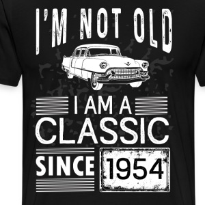 I'm not old I'm a classic since 1954 T-Shirts - Men's Premium T-Shirt