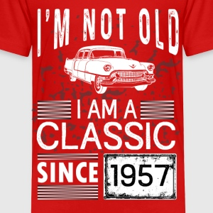 I'm not old I'm a classic since 1957 Baby & Toddler Shirts - Toddler Premium T-Shirt