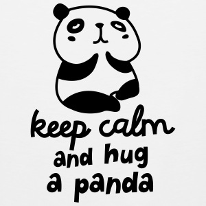 Keep Calm And Hug A Panda Sportswear - Men's Premium Tank