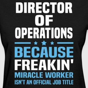 Director of Operations - Women's T-Shirt