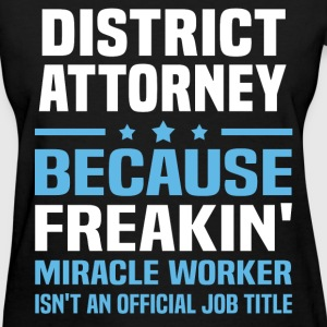 District Attorney - Women's T-Shirt