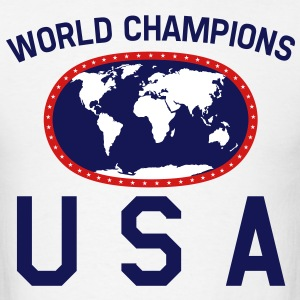 USA World Champions T-Shirts - Men's T-Shirt