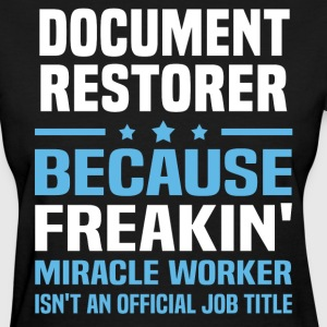 Document Restorer - Women's T-Shirt