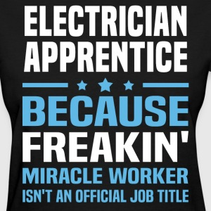 Electrician Apprentice - Women's T-Shirt