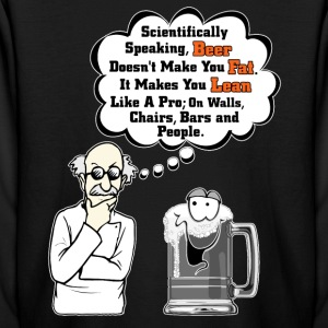 Beer Makes You Fat Science Analysis Kids Long Slee - Kids' Long Sleeve T-Shirt