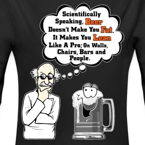Beer Makes You Fat Science Analysis Kids Baby Long - Long Sleeve Baby Bodysuit