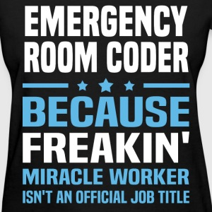 Emergency Room Coder - Women's T-Shirt