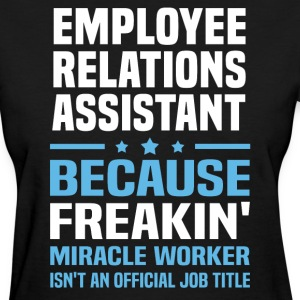 Employee Relations Assistant - Women's T-Shirt