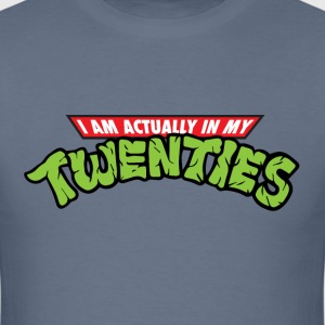 I'm Actually In My Twenties - Men's T-Shirt