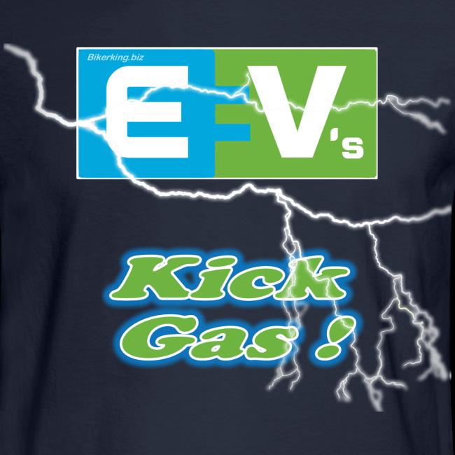 Men's Long Sleeve T- EV3 kicks Front