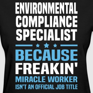 Environmental Compliance Specialist - Women's T-Shirt