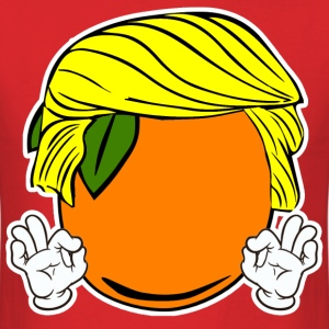 TRUMP ORANGE WITH LITTLE HANDS T-Shirts - Men's T-Shirt
