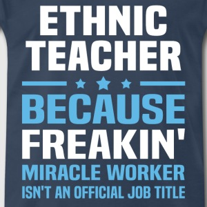 Ethnic Teacher - Men's Premium T-Shirt