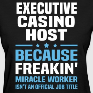 Executive Casino Host - Women's T-Shirt