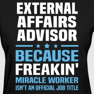 External Affairs Advisor - Women's T-Shirt